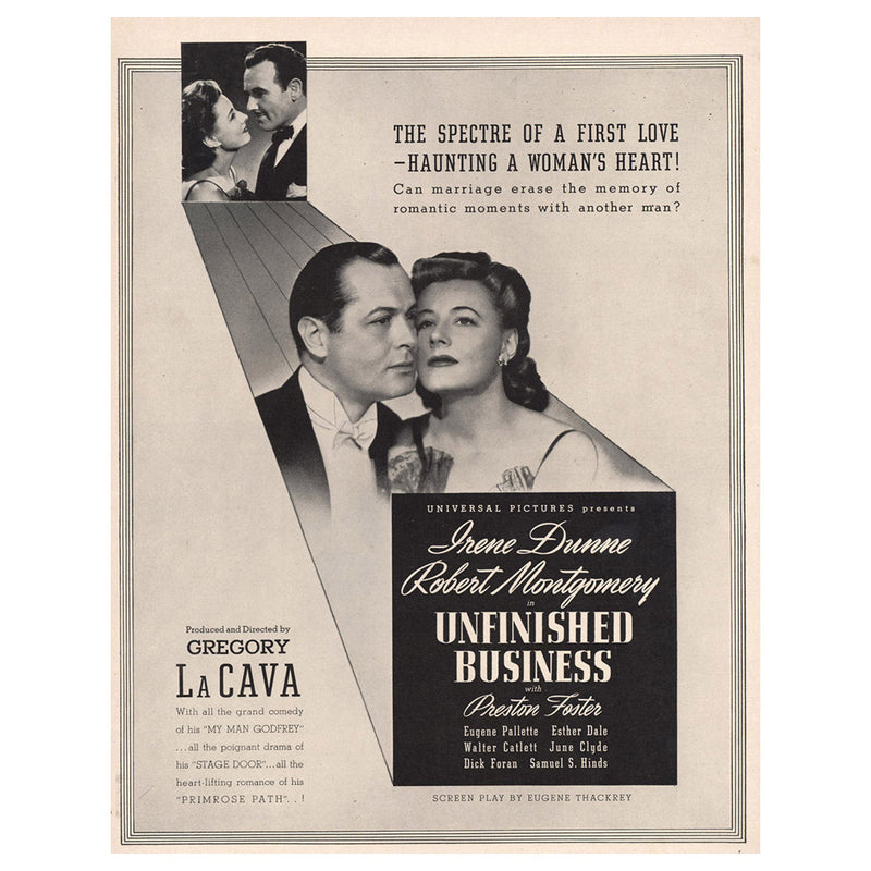 1941 Unfinished Business Promo