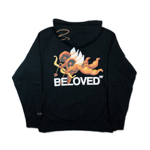 Load image into Gallery viewer, DUET OF LOVERS HOODY BLACK