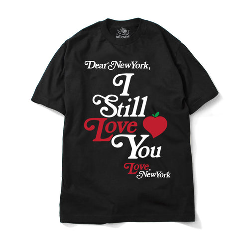 I STILL LOVE YOU NEW YORK TEE BLACK