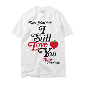 I STILL LOVE YOU NEW YORK TEE WHITE