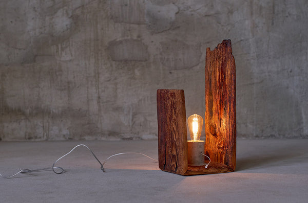 Reclaimed wood lighting Mad Max