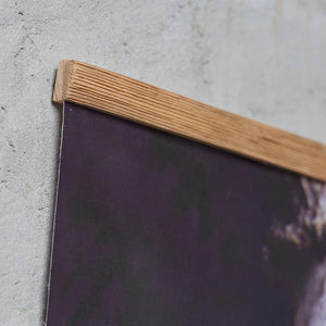 Canvas art in wooden frame, photo by Anna Maskava - HONEY FURNITURE