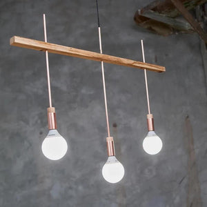 "Ceiling Light ""Shining Triple"" - HONEY FURNITURE"