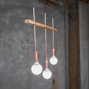 "Ceiling Light ""Shining Triple"""