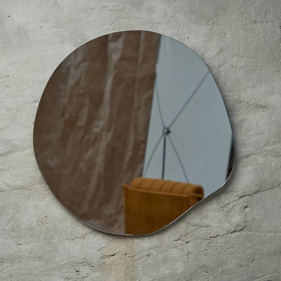 irregular mirror, bathroom mirror, bedroom mirror, design mirror, form mirror, interesting mirror