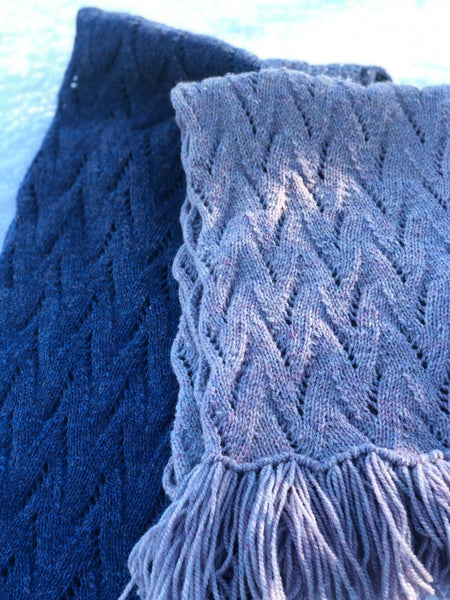 Fundy Bay Shawl - The Lighthouse Keeper's Wife KAL