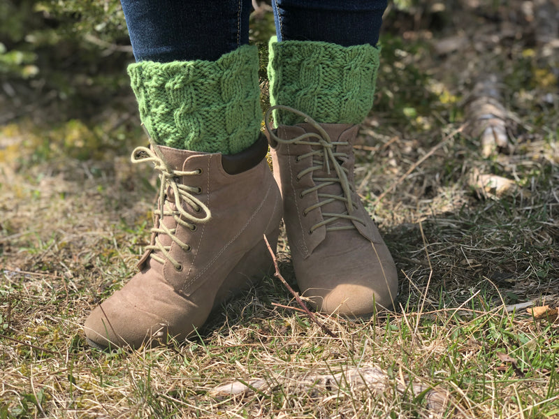 Reversible Boot Topper Socks