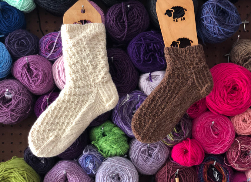 Warm and Worsted Socks