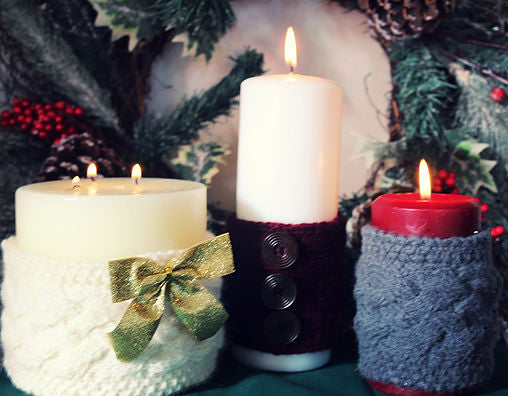Cuddly Candle Sleeves