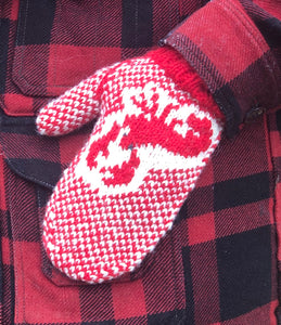 Lobster Mitt Pattern - Digital Download Only