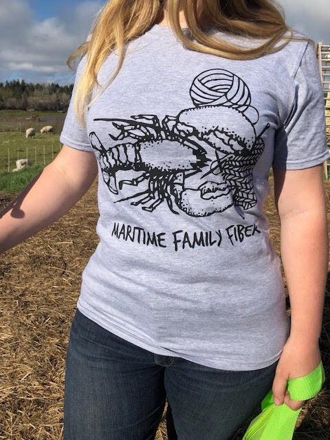 Knitting Lobster T-Shirt