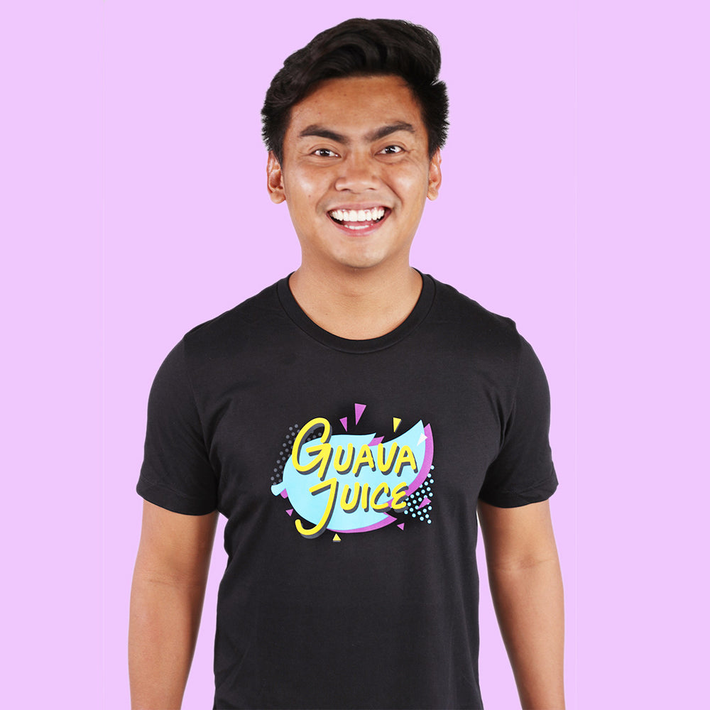 Guava Juice Retro - BLACK (UNISEX)
