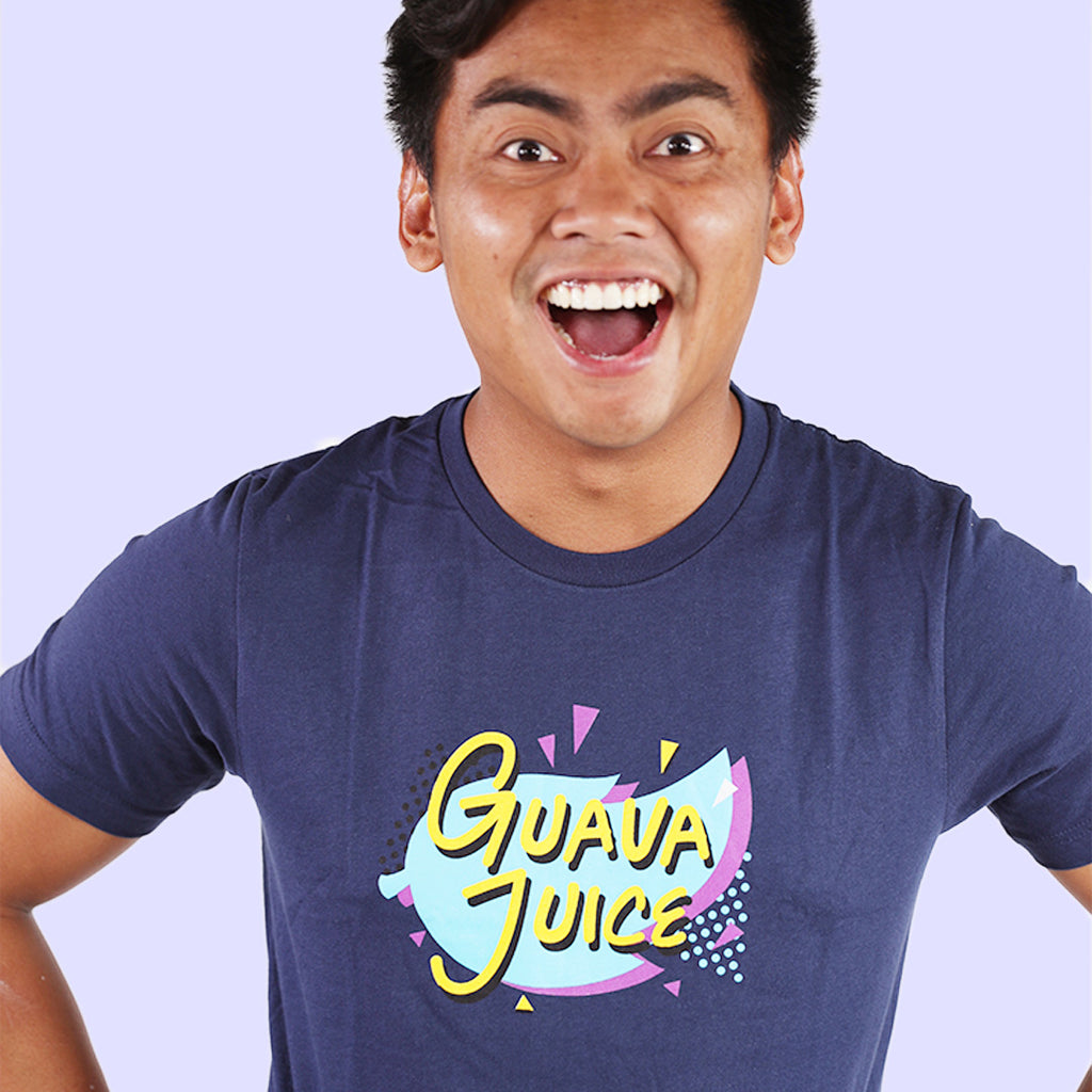 EXCLUSIVE Guava Juice Retro - NAVY (UNISEX)