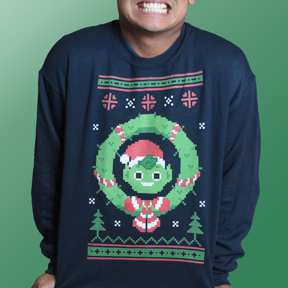 Guava Elf Holiday Sweater (UNISEX)