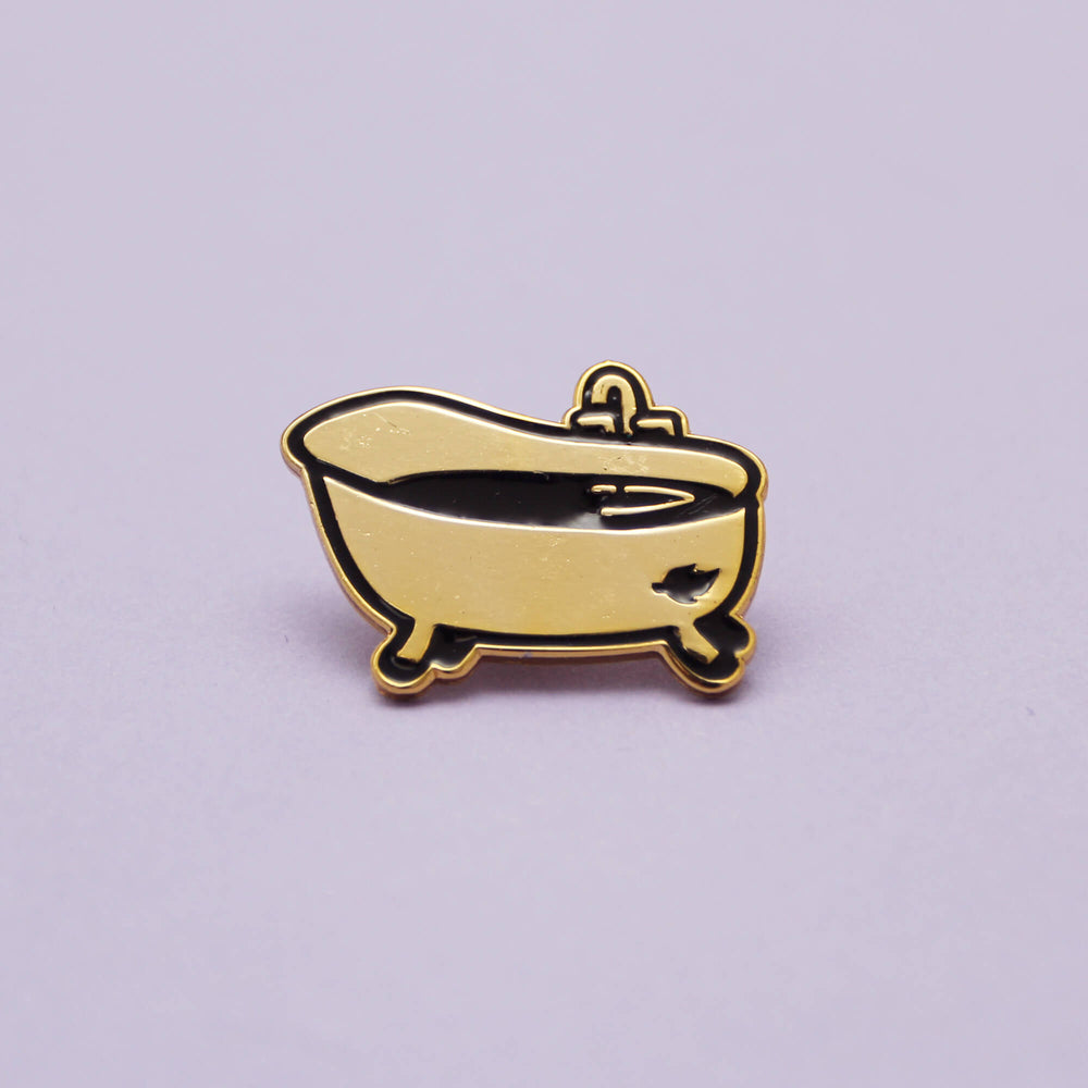 Golden Tub - Exclusive Pin