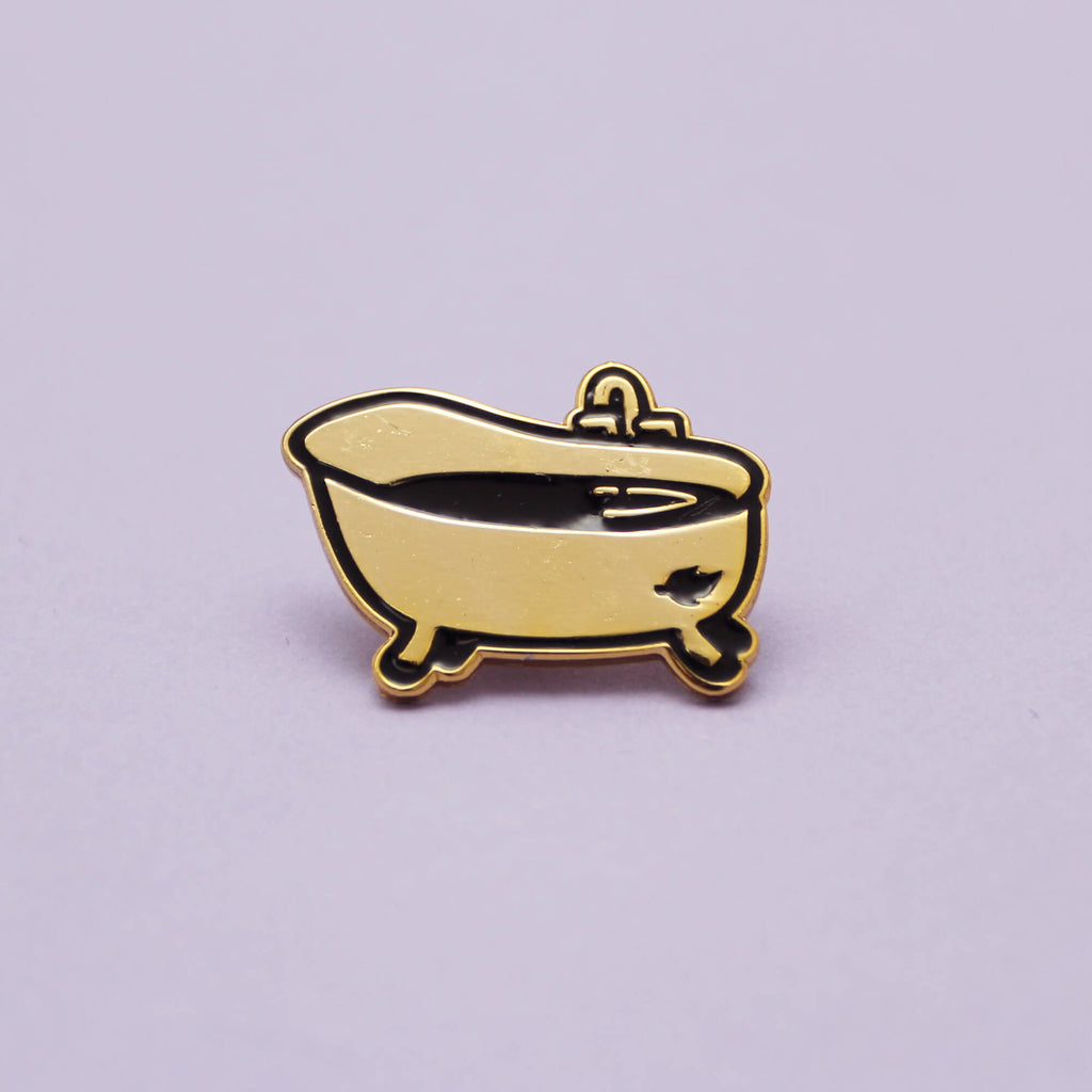 [GET IT FOR FREE] Golden Tub - Exclusive Pin