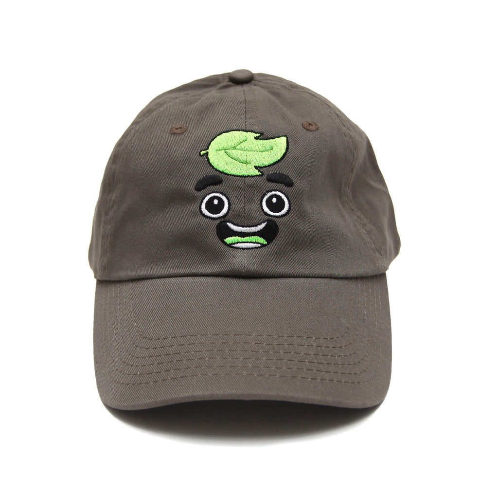 Guava Juice Happy Dad Hat - OLIVE