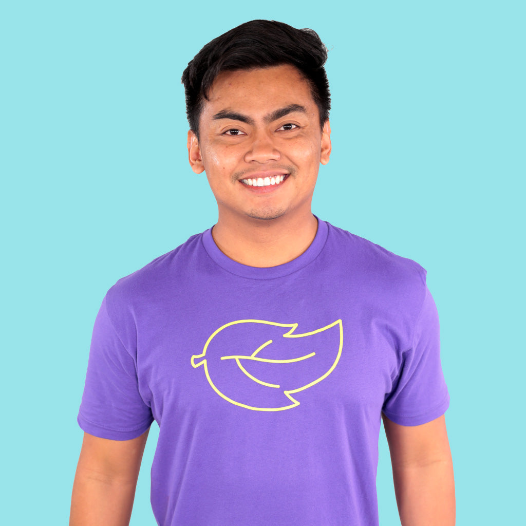 Guava Leaf Shirt - PURPLE (UNISEX)