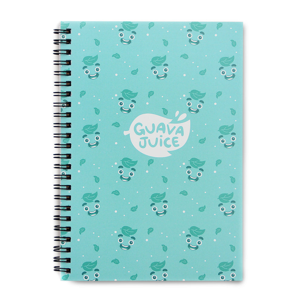 Guava Juice - Spiral Notebook in Teal