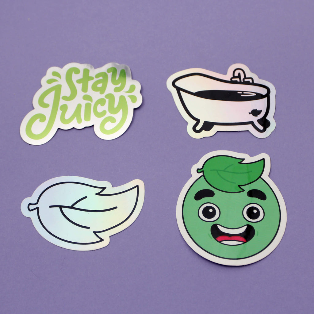 Guava Juice Sticker Pack