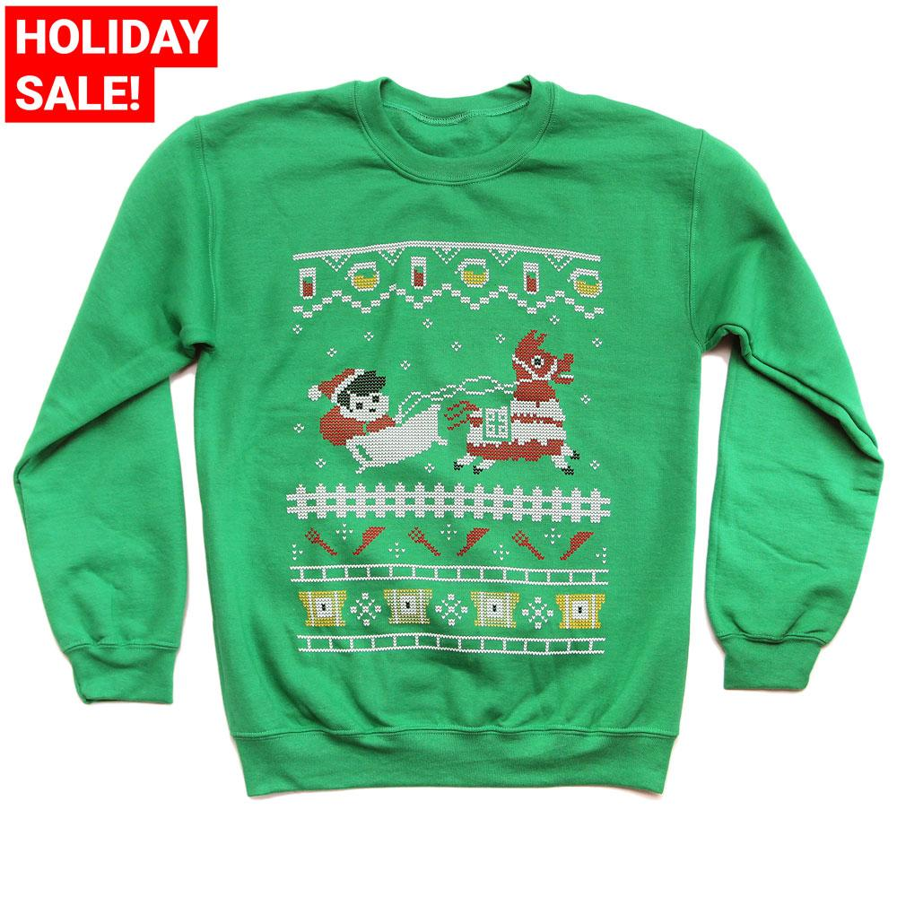 Guava Juice Holiday Fork Knife Sweater (UNISEX)