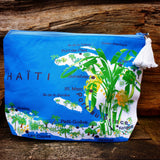 "Trousse de Toilette ""carte d'Haïti"" by Sandilou"