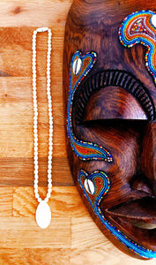 Collier Homme Tribal en Os de Buffle