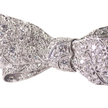 Art Deco Platinum Diamond Brooch