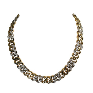Bvlgari 18k Yellow Gold Diamond Necklace