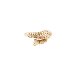 18k Yellow Gold Fish Ring