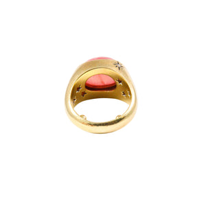 H. Stern 18k Yellow Gold Tourmaline and Diamond Ring