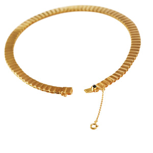 Mid-Century 19k Yellow Gold Necklace