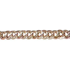 Retro 14k Yellow and Rose Gold Link Bracelet