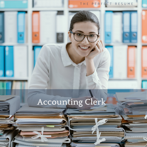 The Perfect Accounting Clerk Resume Writing Tips