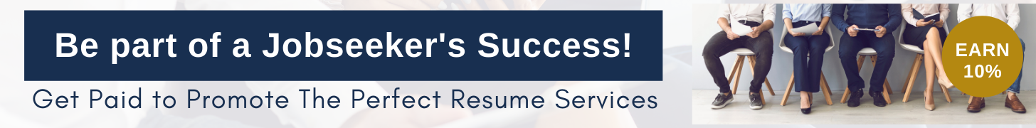 Join The Perfect Resume's Affiliate Program
