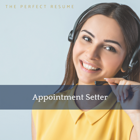 The Perfect Appointment Setter Resume Writing Tips