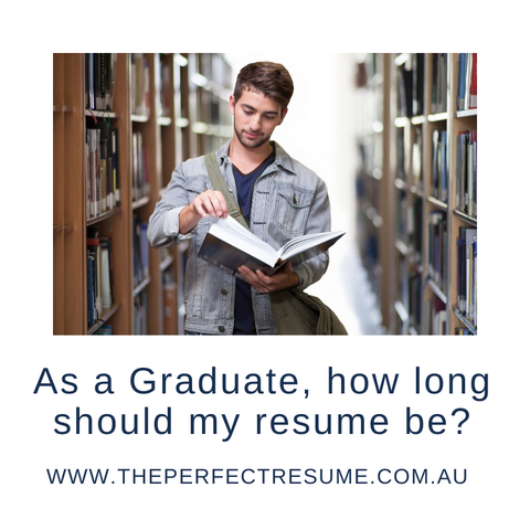 Graduate Resume | The Perfect Resume