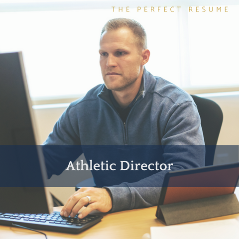 The Perfect Athletic Director Resume Writing Tips