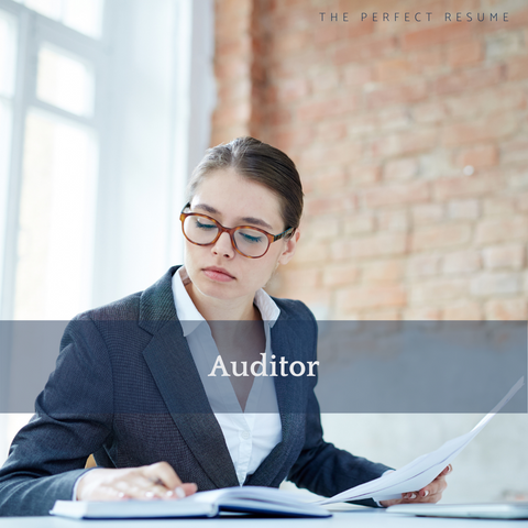 The Perfect Auditor Resume Writing Tips
