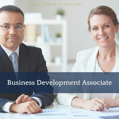 The Perfect Business Development Associate Resume Writing Tips