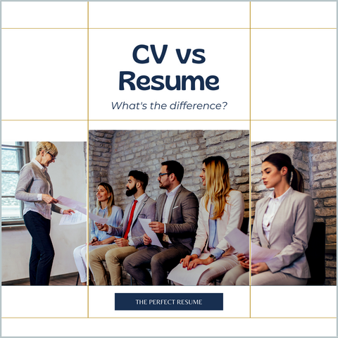 What is a CV vs resume?