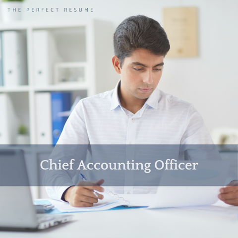 The Perfect Chief Accounting Officer Resume Writing Tips