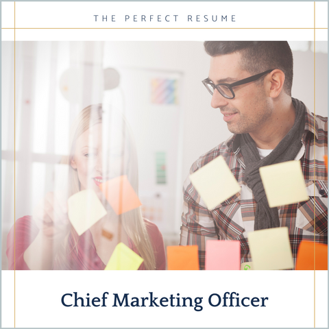 The Perfect Chief Marketing Officer Resume Writing Tips