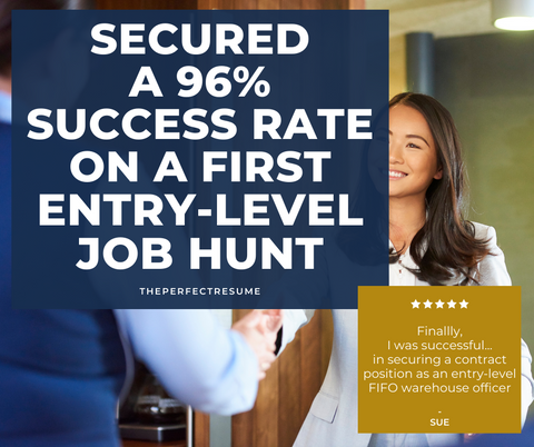 Secured a 96% Success Rate on a First Entry-Level Job Hunt