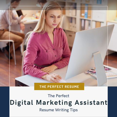 The Perfect Digital Marketing Assistant Resume Writing Tips