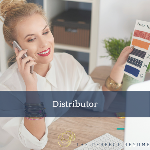 The Perfect Distributor Resume Writing Tips