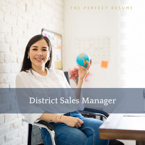 The Perfect District Sales Manager Resume Writing Tips