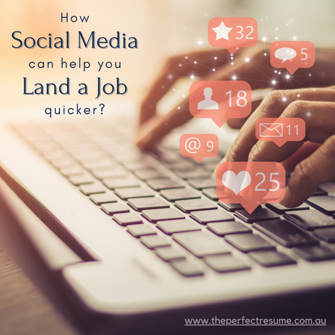 How Social Media Can Help You Land a Job Quicker?