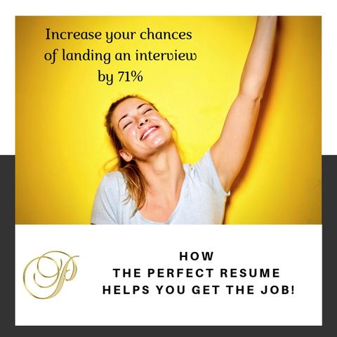 How The Perfect Resume will get you the job!