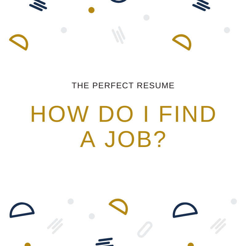 Job Search Victoria | The Perfect Resume